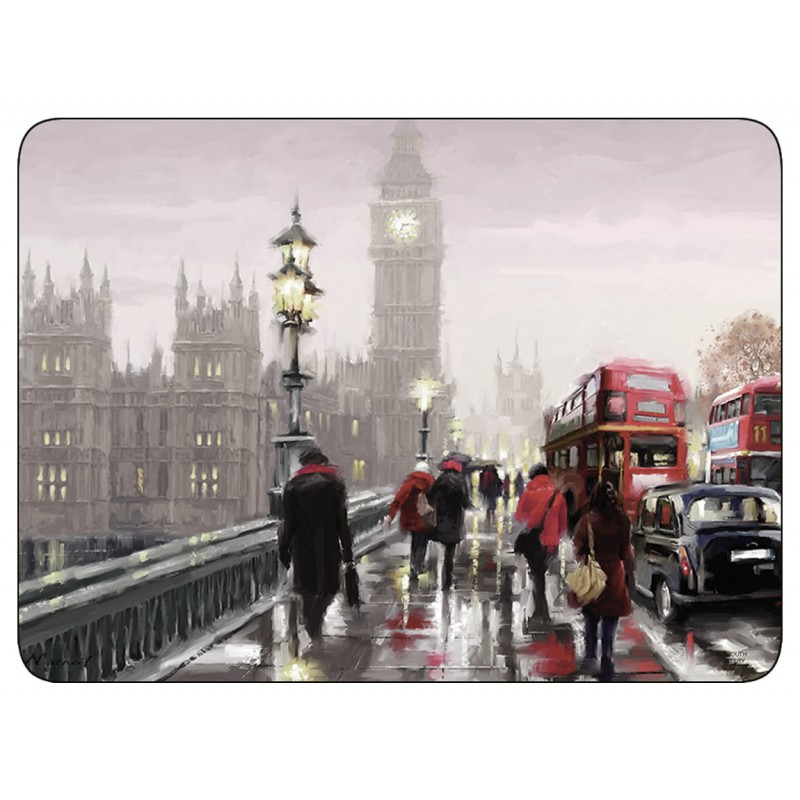 Streets of London corkbacked placemats