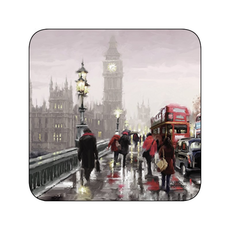 Streets of London corkbacked coasters