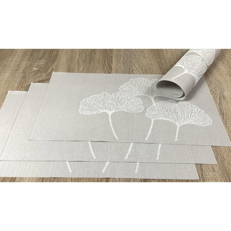 Vanilla Fleximats set of 4 flexible placemats