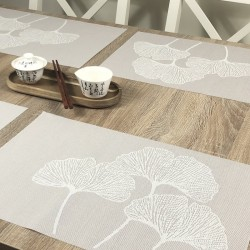 Vanilla Fleximats set of 4 flexible placemats with table centre