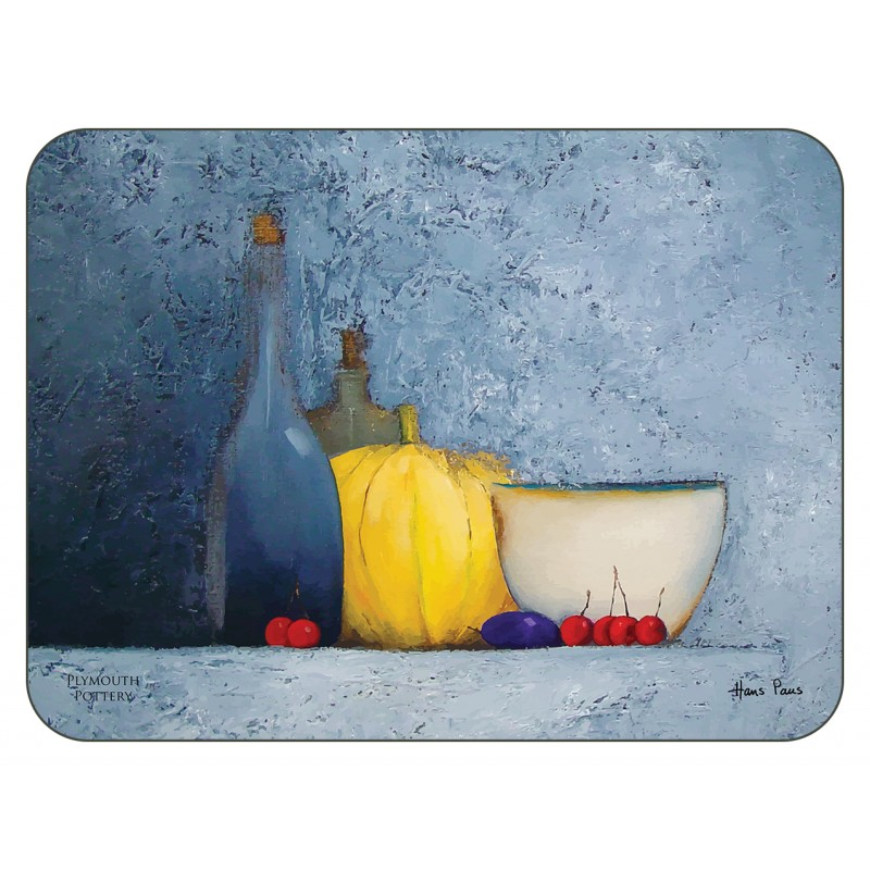 Blue Harmony fruit themed tablemats