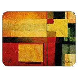 Colourful Radiance tablemats design by Pablo Esteban