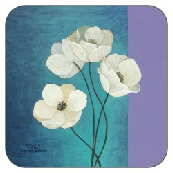 Timeless drinks coasters by Plymouth Pottery