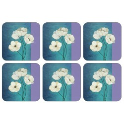 Modern Timeless design of drinks coasters from Plymouth Pottery